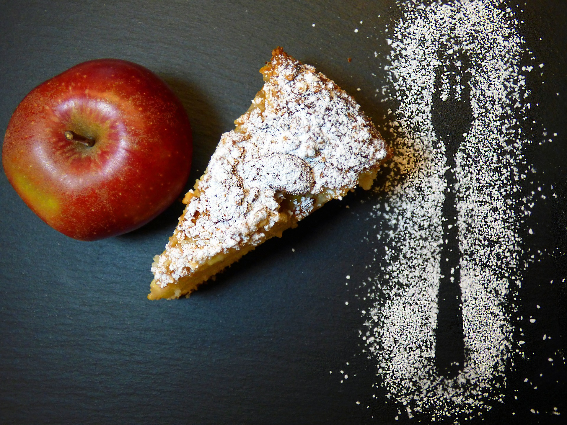 עוגת תפוחים בדבש